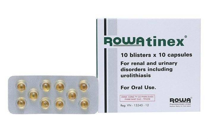 thuốc điều trị sỏi thận Rowatinex