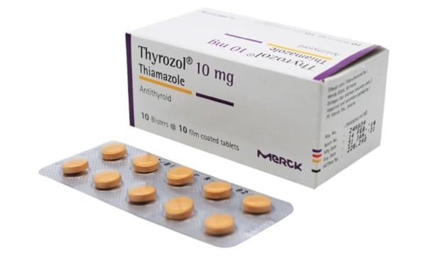 Thuốc Thyrozol (thiamazol)