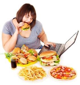 Chế độ ăn không hợp lý gây thừa cân béo phì