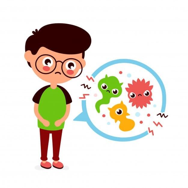 Nguyên nhân gây nên tình trạng nôn mửa ở trẻ