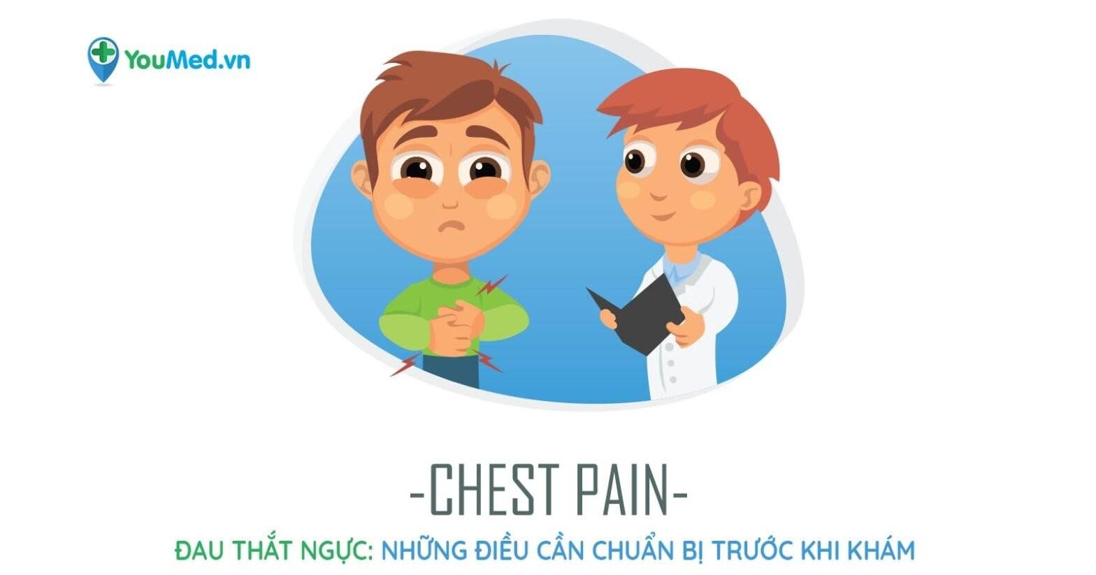 đau thắt ngực những điều cần chuẩn bị trước khi khám