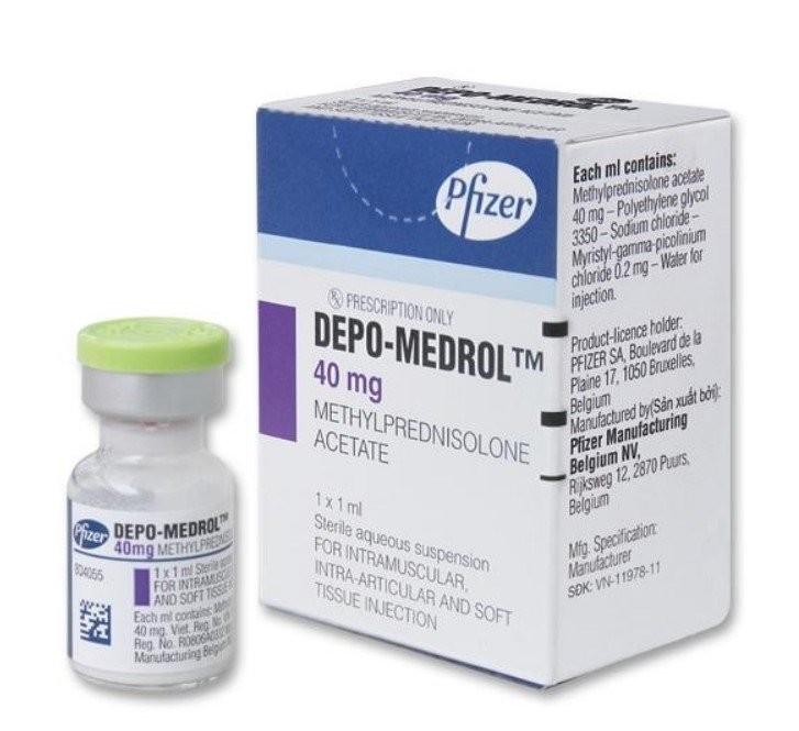 Thuốc Depo-Medrol (methylprednisolone)