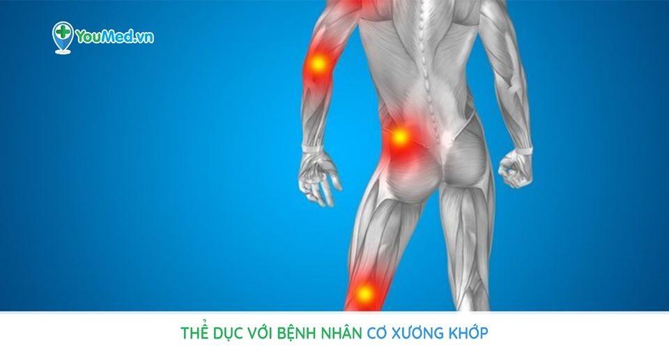 Tập thể dục với bệnh nhân cơ xương khớp