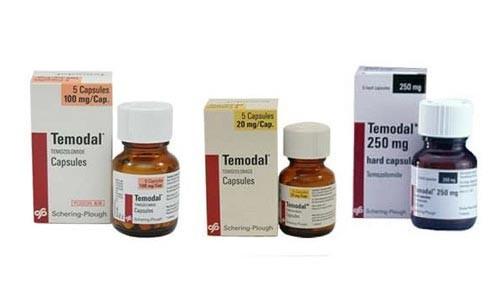 thuốc điều trị ung thư não Temodal (temozolomid)