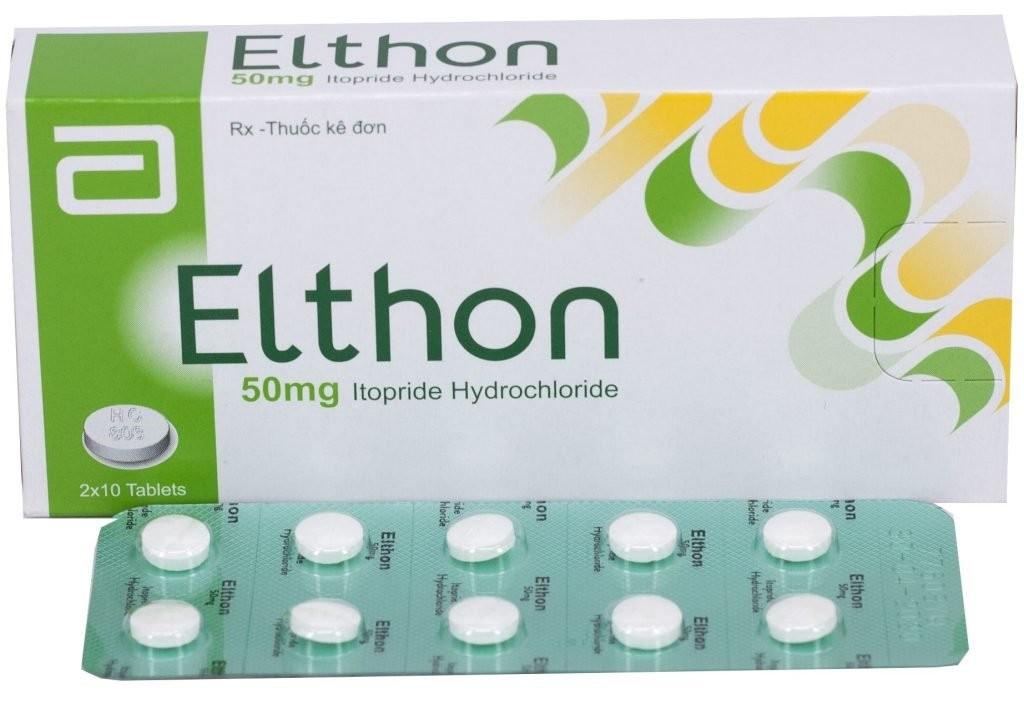 thuốc điều trị dạ dày ruột Elthon (itopride)