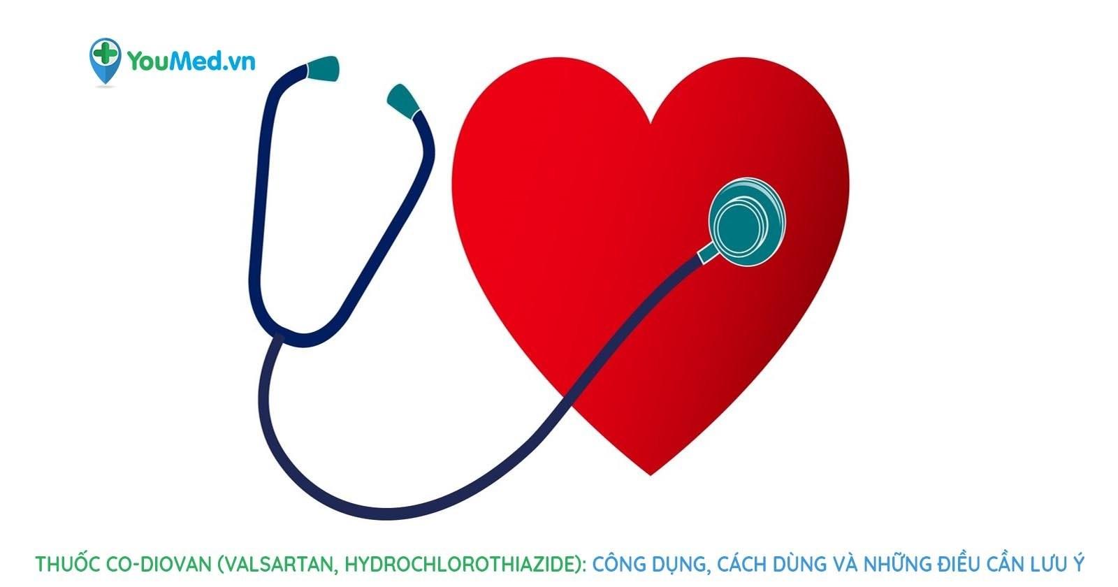 Thuốc Co-Diovan (valsartan, hydrochlorothiazide): Công dụng, cách dùng và những điều cần lưu ý