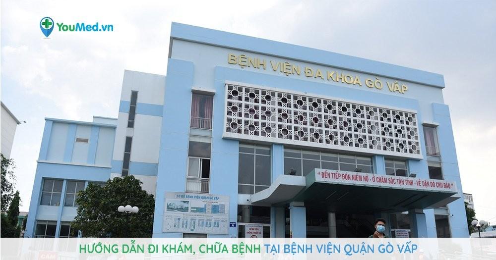 Hướng dẫn đi khám, chữa bệnh tại Bệnh viện Quận Gò Vấp