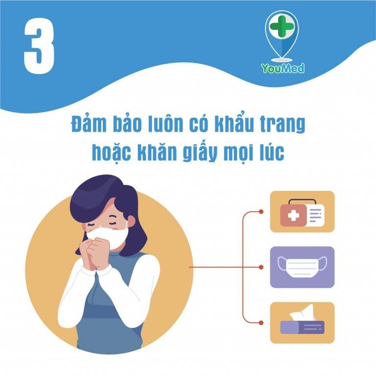 Tăng cường vệ sinh đường hô hấp thật tốt