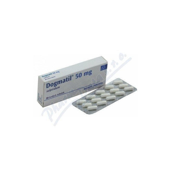 thuốc điều trị tâm thần Dogmatil (sulpiride)