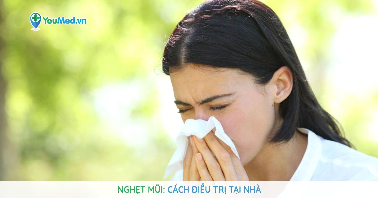 Nghẹt mũi: Cách chữa trị tại nhà