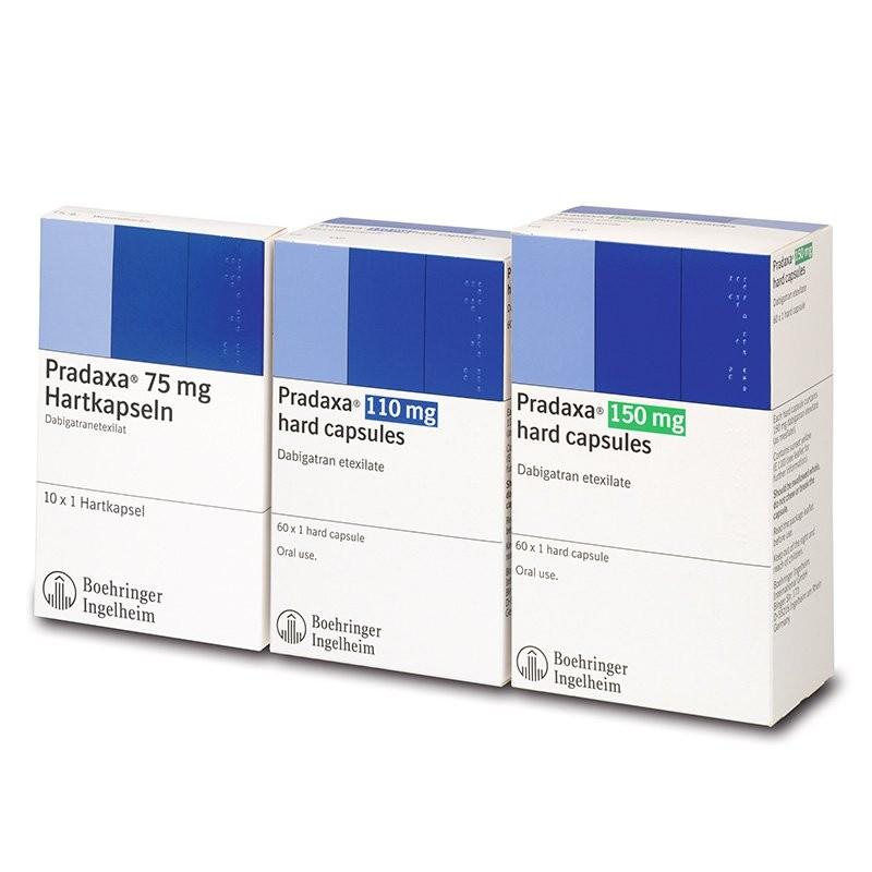 thuốc chống đông Pradaxa (dabigatran)