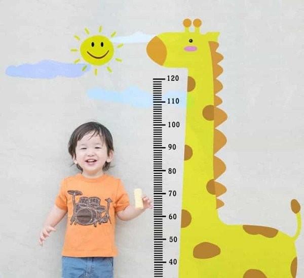 tăng chiều cao ở trẻ