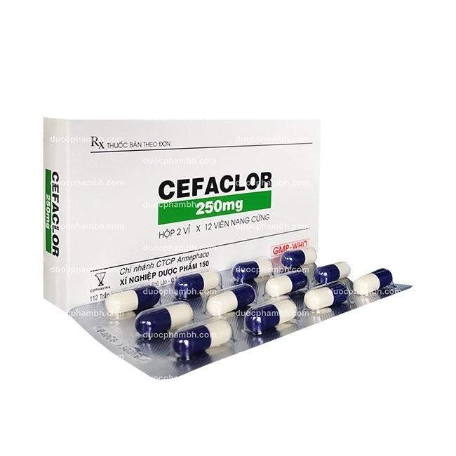 thuốc kháng sinh cefaclor (Ceclor, Cefaclor)