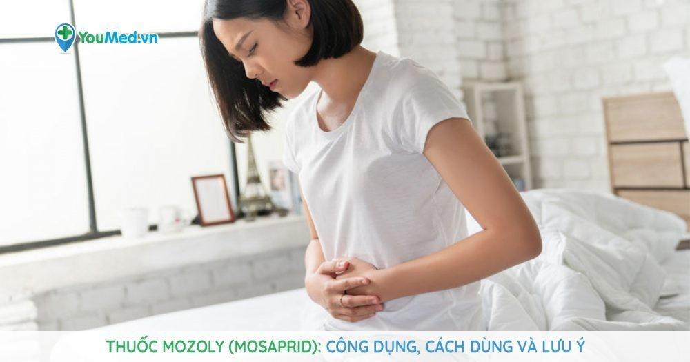 Những điều cần biết về thuốc điều trị tiêu hóa Mozoly (mosaprid)