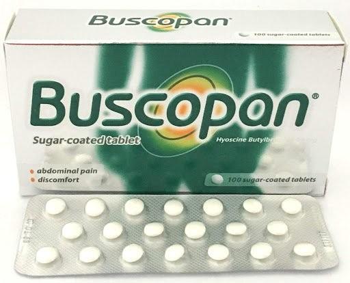 Thuốc Buscopan (hyoscine)