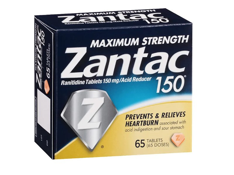 thuốc điều trị dạ dày Zantac (ranitidine)