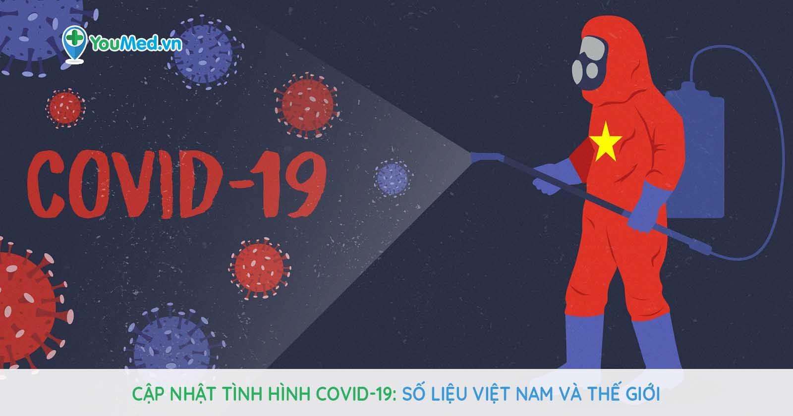 Cập nhật tình hình Covid-19: Số liệu Việt Nam và thế giới