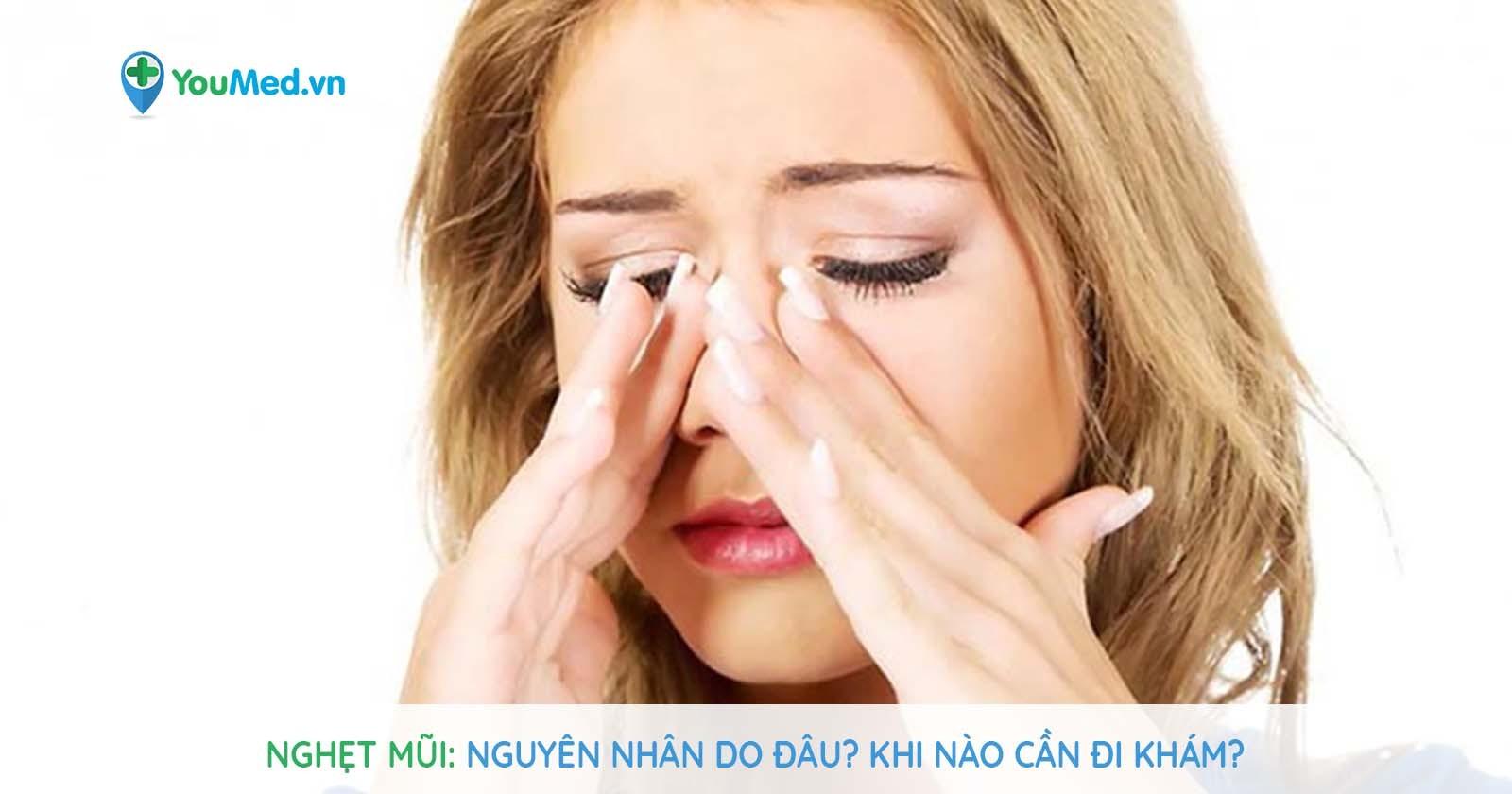 Nghẹt mũi: Nguyên nhân do đâu? Khi nào cần đi khám?