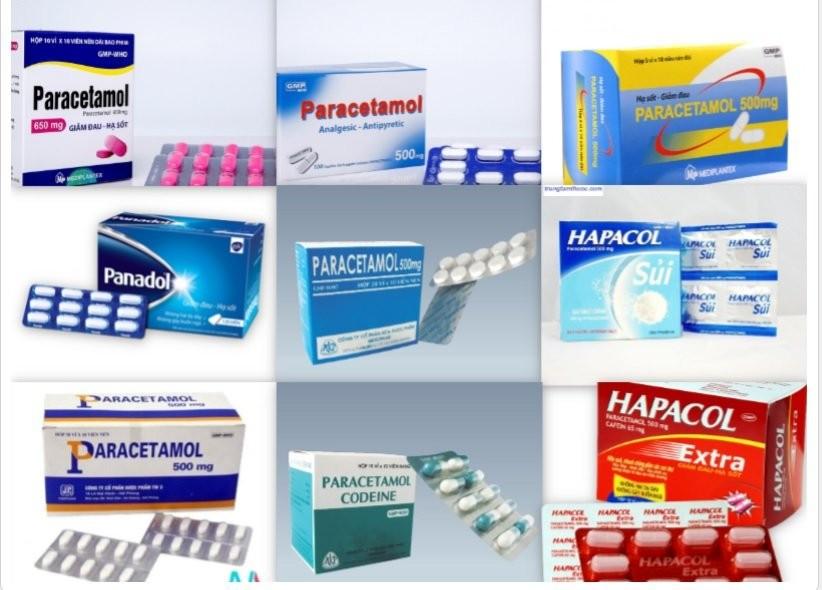 Thuốc paracetamol