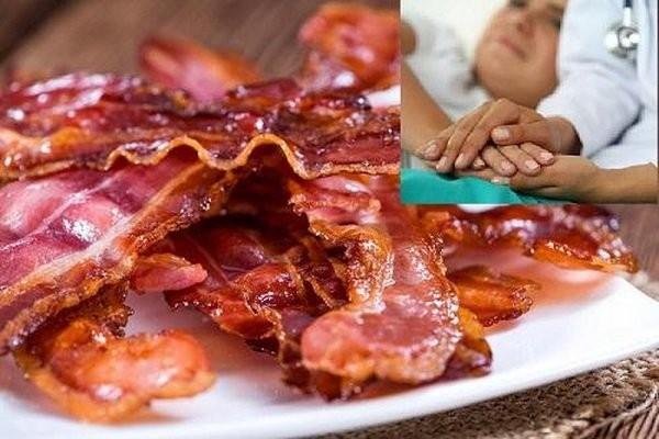 Thịt xông khói là món ăn dễ gây ung thư