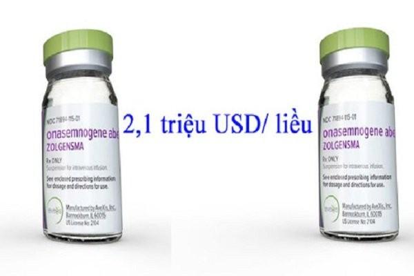 Thuốc Zolgensma