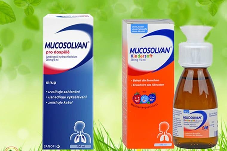 Thuốc Mucosolvan (ambroxol)