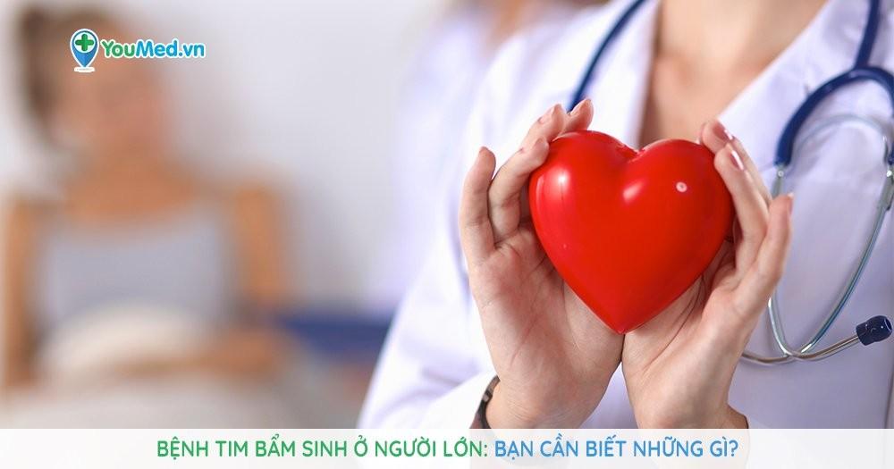 Bệnh tim bẩm sinh ở người lớn