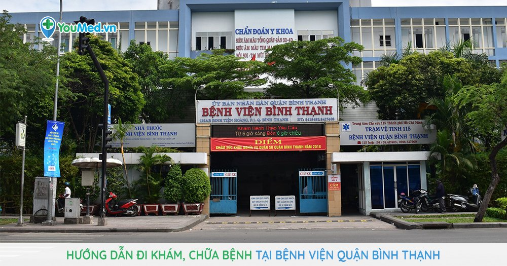 Hướng dẫn đi khám, chữa bệnh tại Bệnh viện quận Bình Thạnh