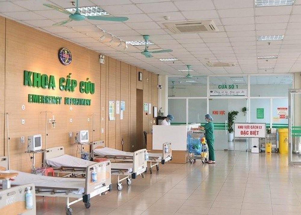 Khoa cấp cứu bệnh viện Bệnh Nhiệt đới Trung ương