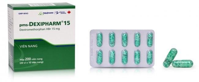 Thuốc trị ho có dextromethorphan 1