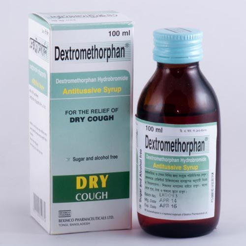 Thuốc trị ho có dextromethorphan 2