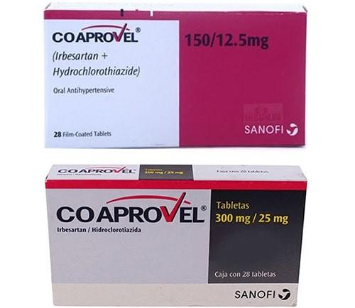 Thuốc Co aprovel (irbesartan/hydrochlorthiazide)