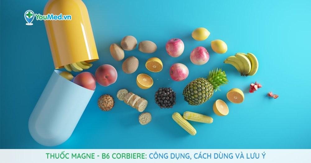 thuốc Magne - B6 Corbiere