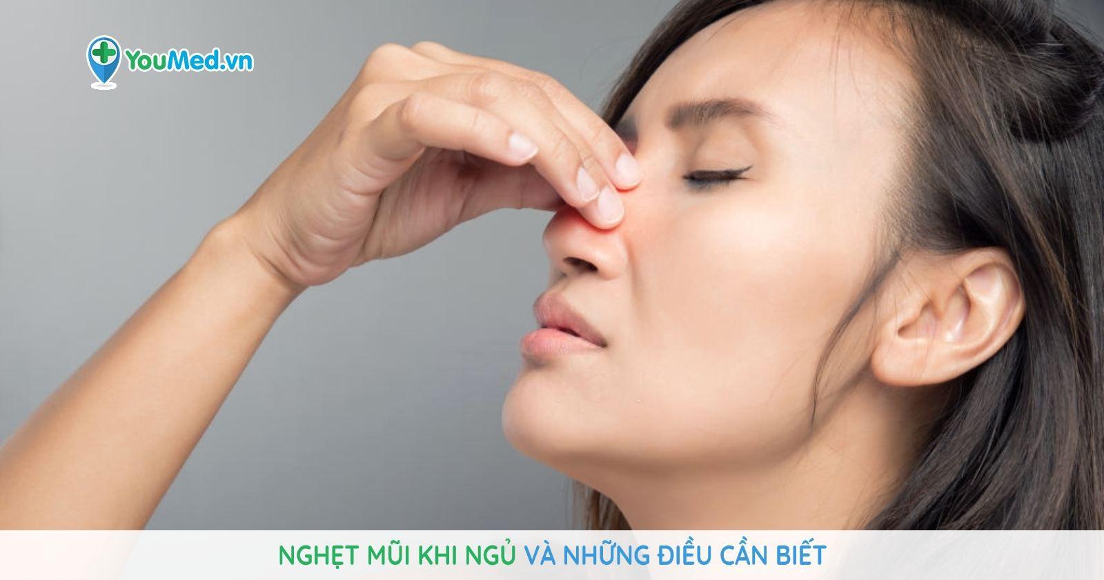 Nghẹt mũi khi ngủ và những điều cần biết