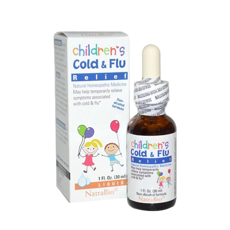 Siro Children's Cold & Flu của Mỹ