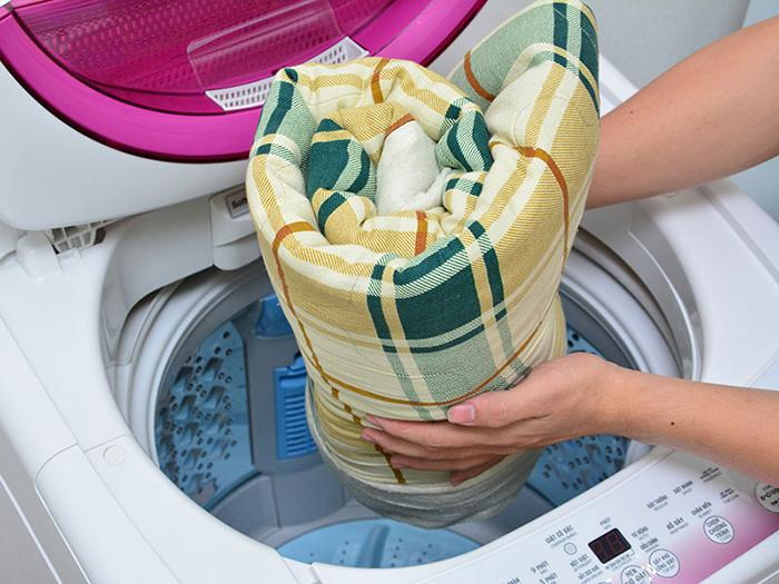 giặt áo gối