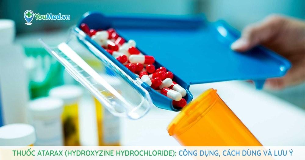Thuốc Atarax (hydroxyzine hydrochloride)