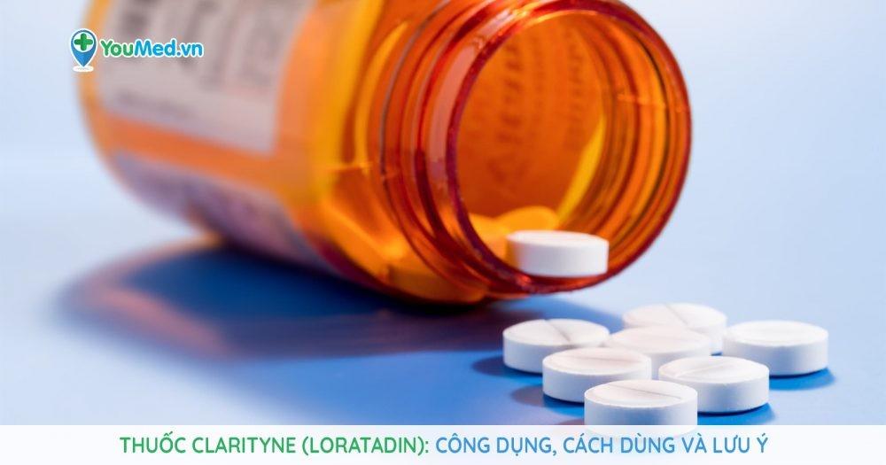 Những điều cần lưu ý về thuốc kiểm soát dị ứng Clarityne (loratadin)