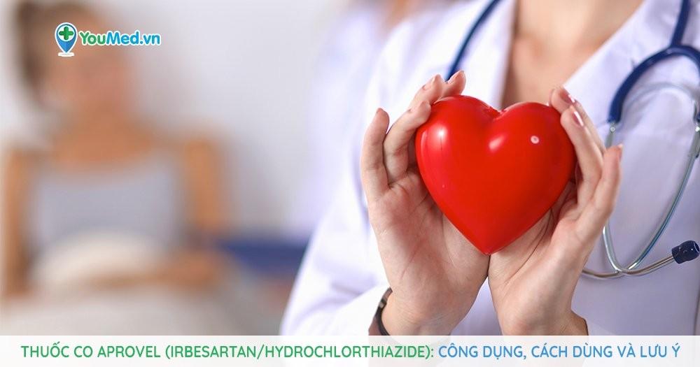 Bạn biết gì về thuốc kiểm soát huyết áp Co aprovel (irbesartan/hydrochlorthiazide)?