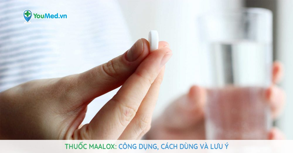 thuốc trung hòa acid dạ dày Maalox