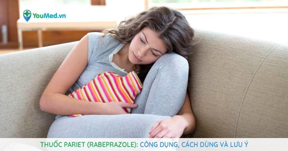 thuốc chống trào ngược Pariet (rabeprazole)