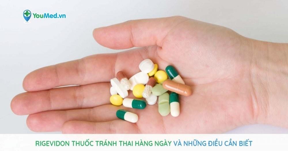 thuốc Rigevidon tránh thai hàng ngày