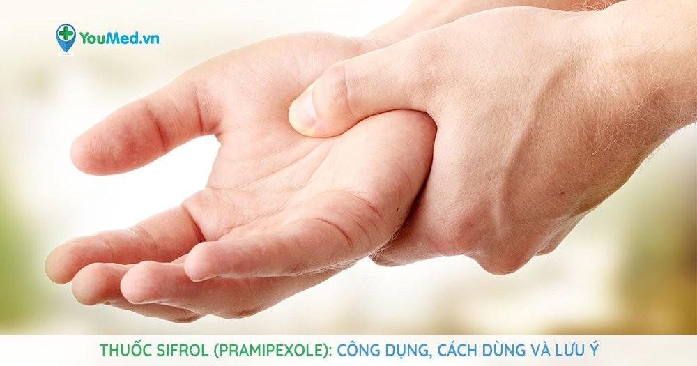 thuốc điều trị bệnh Parkinson Sifrol (pramipexole)