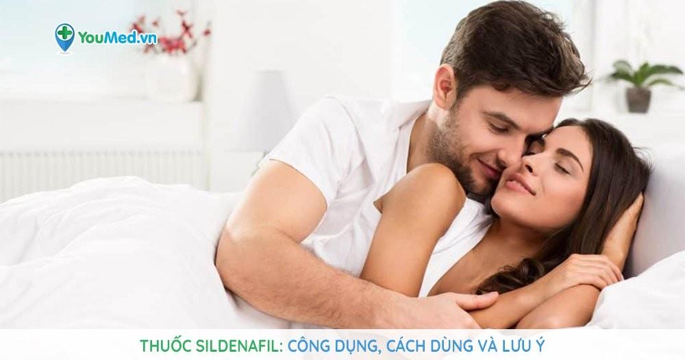 Thuốc cường dương sildenafil