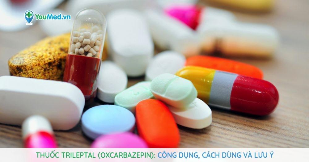 thuốc điều trị động kinh Trileptal (oxcarbazepin)