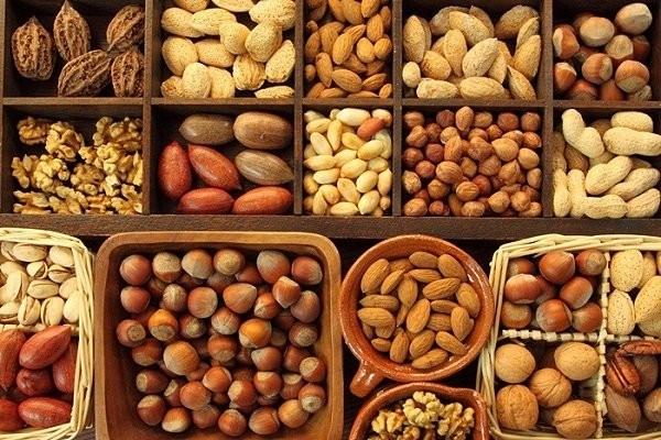 Các loại hạt giàu chất dinh dưỡng