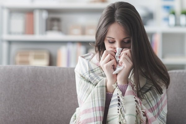 Cảm cúm là nguyên nhân thường gây ho khi mang thai