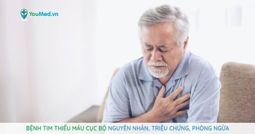 Bệnh tim thiếu máu cục bộ: Nguyên nhân, nhận biết, phòng ngừa