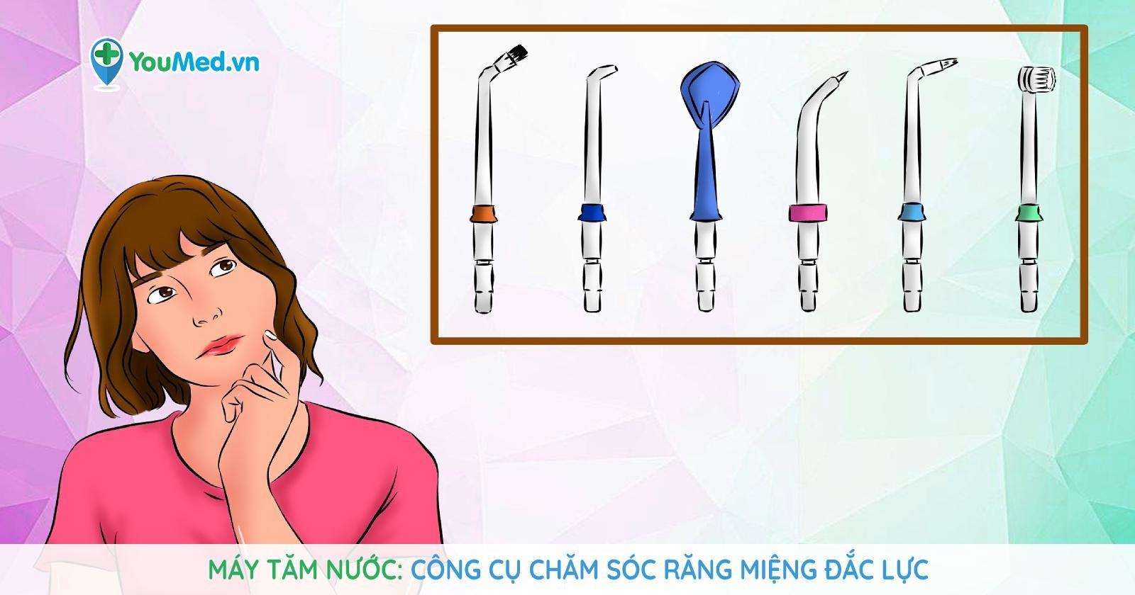 Máy tăm nước: Công cụ chăm sóc răng miệng đắc lực