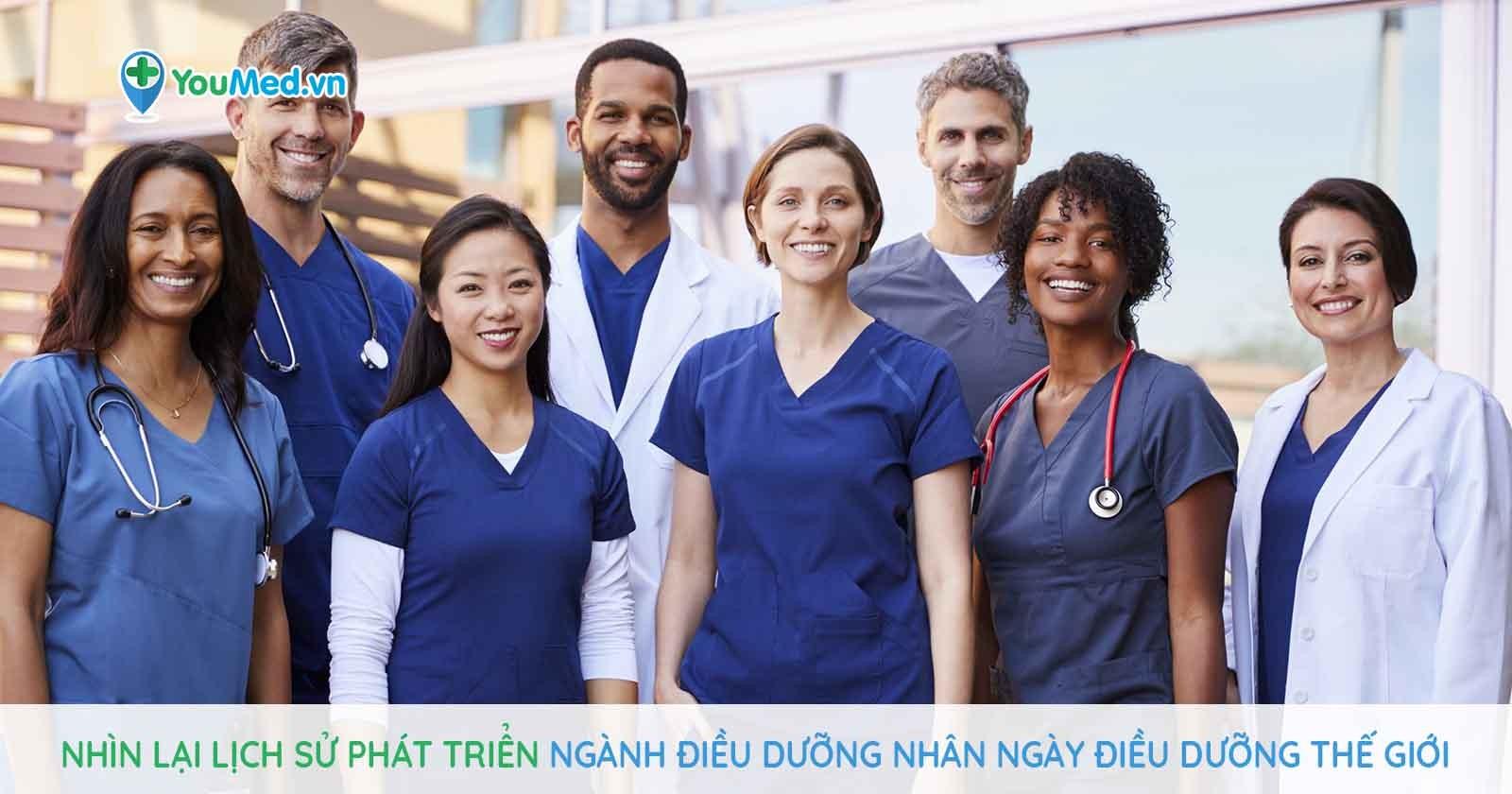 Nhìn lại lịch sử phát triển ngành Điều dưỡng nhân Ngày Điều dưỡng Thế giới